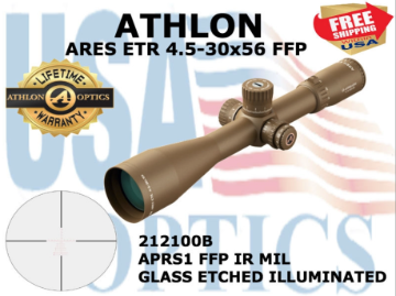 NEW Ares ETR 212100B, NOW Shipping, Great NEW scope with new Color !!