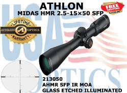 New from Athlon Optics, Midas HMR part number 213050