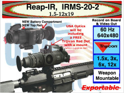 NEW Reap-IR from Trijicon EO, IRMS-20-2