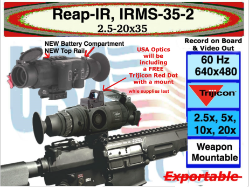 NEW Reap-IR from Trijicon EO, IRMS-35-2