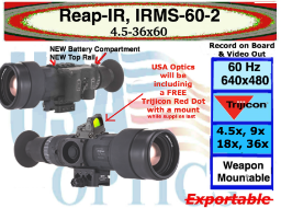 NEW Reap-ir from Trijicon, with large 60mm lens.. get your now